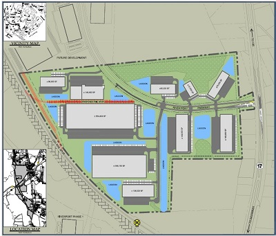 New RiverPort Business Park Strategically Located Near Port