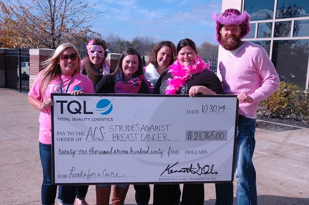 2014-11-06-TQL-Loads-for-a-Cure-donation