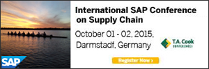 International SAP Conference on Supply Chain - 2015