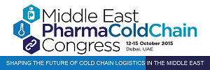 2015-10-12 Middle East Pharma Cold Chain Congress